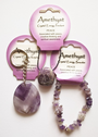 "Gemstone Jewellery ""Crystal Energy"" Pendants, Bracelets & Keyrings"